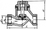 Клапан обратный чугунный 16КЧ11П