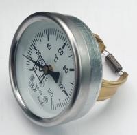 Термометр биметаллический контактный