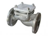 Обратный клапан 16кч9п фланцевый (чугунный)