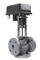 Клапан трехходовой регулирующий ВКТР с электроприводом